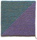 "Angela Teng, ""Diagonal (Blue-Green Violet and Bronze),"" 2018"