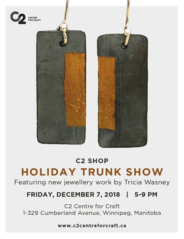 "C2 Shop, Tricia Wasney, ""Holiday Trunk show,"" 2018"