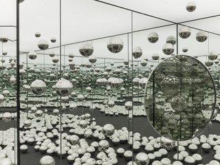 "Yayoi Kusama, ""Infinity Mirrored Room - Let's Survive Forever,"" © YAYOI KUSAMA"