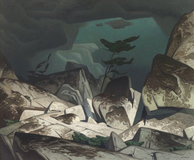 "A.J. Casson, ""Storm in the Cloche Hills,"" 1951"