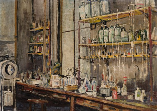 """Frederick Grant Banting, """"The Lab,"""" 1925"""