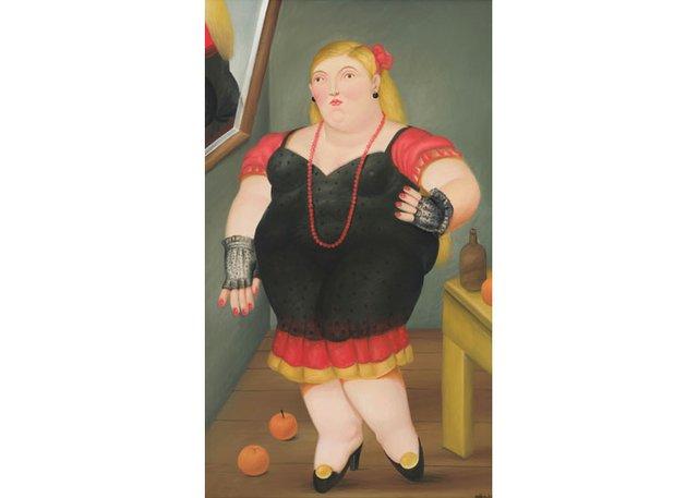 """Fernando Botero, """"Femme Debout,"""" 1982"""