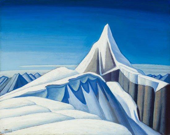 "Lawren Stewart Harris, ""Mountain Sketch XC,"" circa 1926-1929"