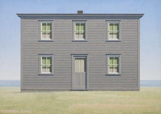 """Christopher Pratt, """"House in August,"""" 1969"""