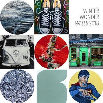 "Kimoto Gallery, ""Winter Wonder Walls - A holiday group exhibition,"" 2018"