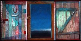 """David Blackwood, """"Ephraim Kelloway's Door,"""" nd"""