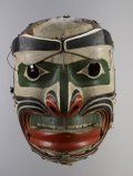 "John Davis ('Nakwaxda'xw), ""Earthquake mask,"" before 1939"