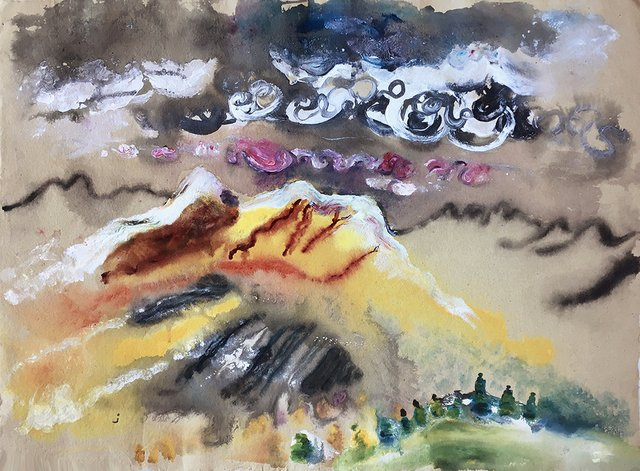 "Michael Matthews ""Untitled – Landscape II,""  2018"