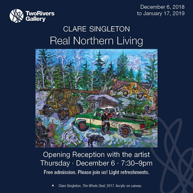 """Clare Singleton, """"Real Northern Living,"""" 2018"""