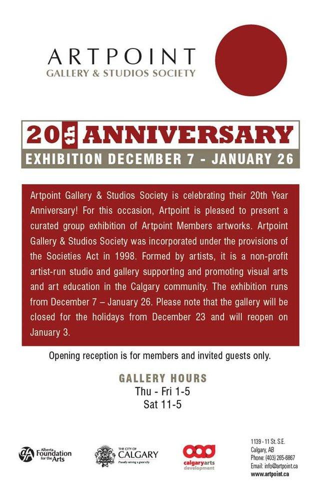 ArtPoint Gallery 20th Anniversary, 2018