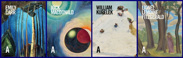 Cover images courtesy of the Art Canada Institute.
