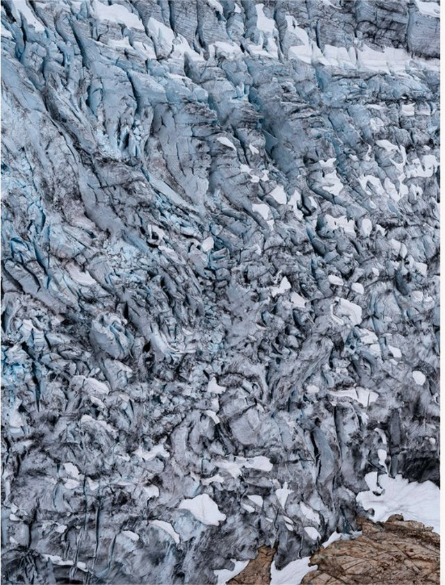 "Kevin Boyle, ""Icefield Study #15, 