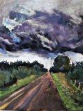 "Suzan Berwald, ""The Road Home,"" 2018"