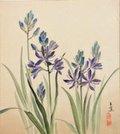 "Elizabeth Yeend Duer—Gyokushō 玉蕉, ""Kamass Camassia quamash; Camas,"" 1941"