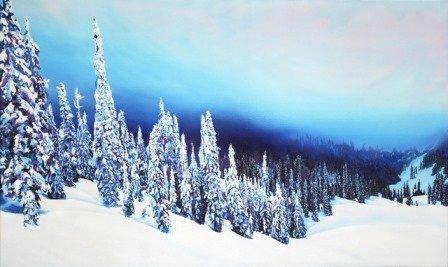 "Murray McDonnell, ""Evening, Lizard Range (near Fernie BC),"" 2018"