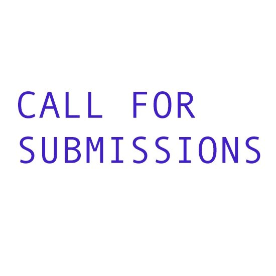 """Stride Gallery, """"Call for Submissions,"""" 2018/19"""