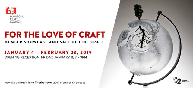 "MCC C2 Centre, ""For the Love of Craft :: MCC Member Showcase,"" 2019"