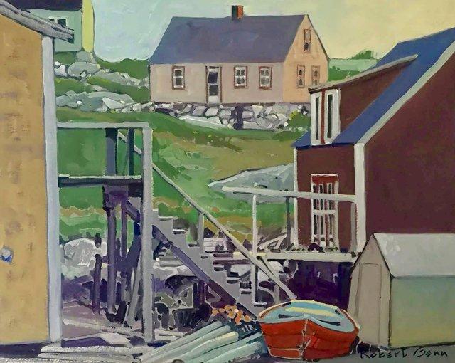 """Robert Genn, """"House Patterns,"""" nd"""