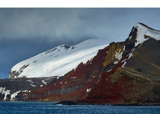 "Hugh Conacher, ""Neptune's Bellows, Whalers' Bay, Deception Island  62˚59' S, 60˚34' W, November 26, 2016"""