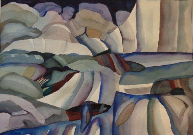 """Ed Flanagan ASA, """"Landscape 8,"""" nd"""