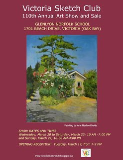Victoria Sketch Club 110th Annual Art Show and Sale, 2019