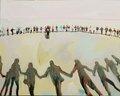 "Jennie Vegt, ""Circles 2: Our Dance,"" 2015"