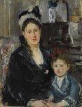 "Berthe Morisot, ""Madame Boursier and Her Daughter,"" c. 1873"