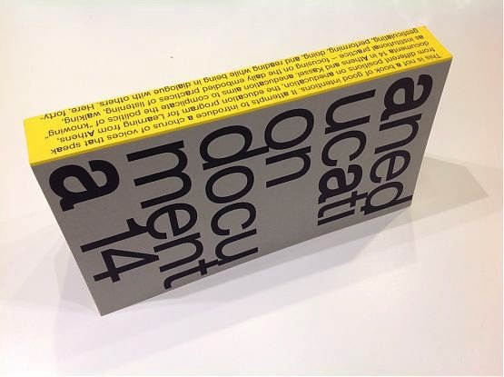 Aneducation – documenta 14 Book Launch and Discussion, 2019