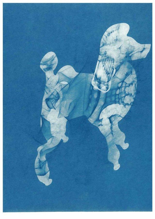 """Mireille Perron, """"Poodle,"""" 2015"""