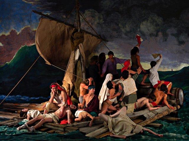"Adad Hannah, ""The Raft of the Medusa (100 Mile House) 8,"" 2009"