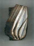 """Angela Grauerholz, """"Privation (folded Book #43 front),"""" 2001"""