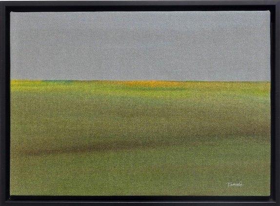 """Takao Tanabe, """"The Land/Sketch J/75,"""" 1975"""