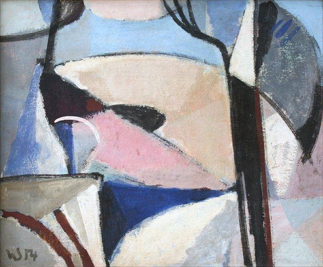 "Herbert Siebner, ""Baumwinter (Tree-winter),"" 1954"