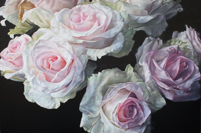 "Robert Lemay, ""Winter Roses,"" 2019"