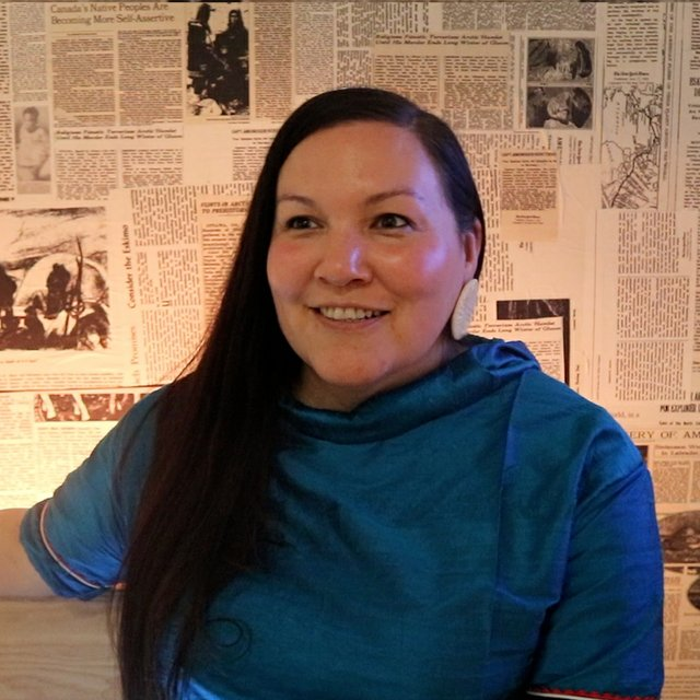 Taqralik Partridge (photo courtesy of Inuit Art Foundation)