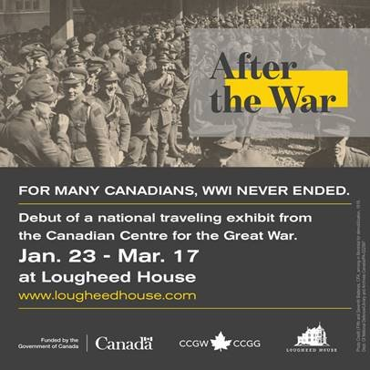 "Lougheed House, ""After the War,"" 2019"