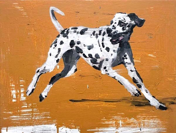 "Richard Storms, ""Dalmation,"" 2018"