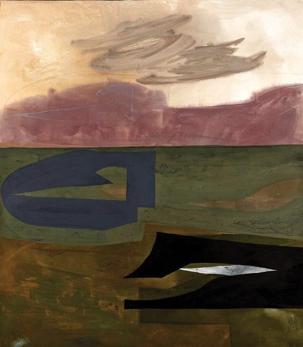 "Otto Donald Rogers, ""Floating Bird Passage,"""