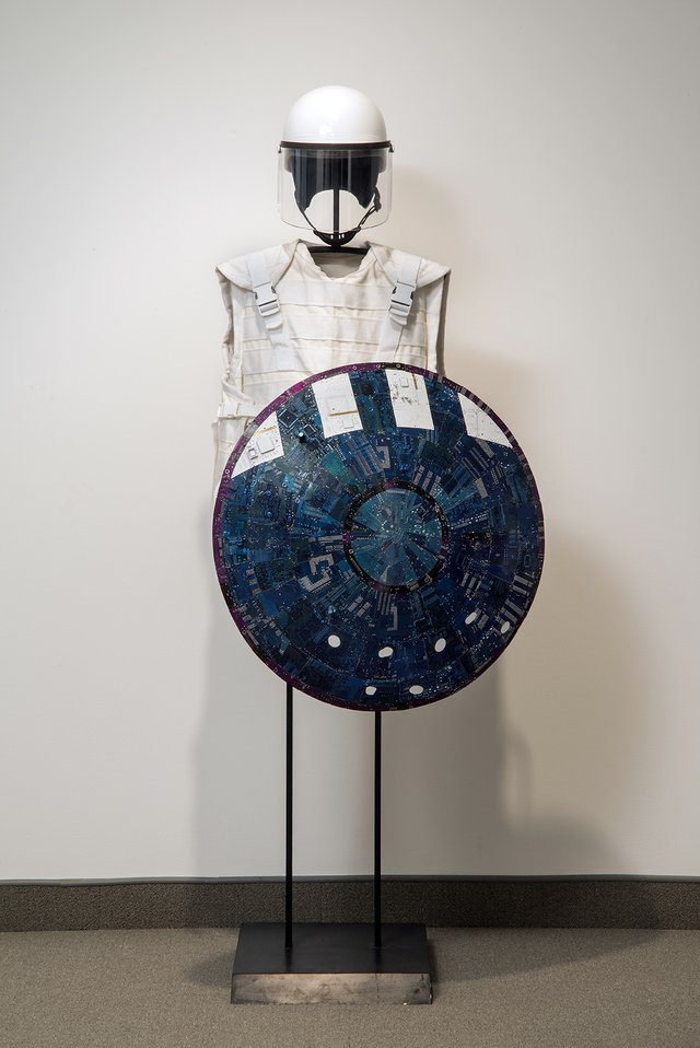 "Wally Dion, ""Armour Set,"" 2008"