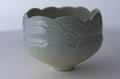 "Byron Johnstad, ""Carved stoneware bowl,"" 1977-1982"