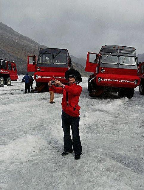 "Robert E. von Sternberg, ""Photo, Columbia Icefield, Alberta, Canada,"" 2009"