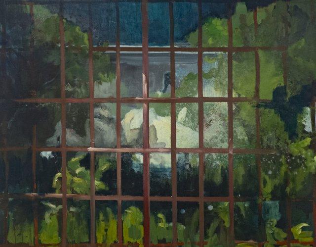 "Emmanuel Osahor, ""Epicurus' Garden,"" 2018"