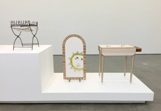 "Anne Low, ""Chair for a woman,"" 2019, installation view at Contemporary Art Gallery, Vancouver"