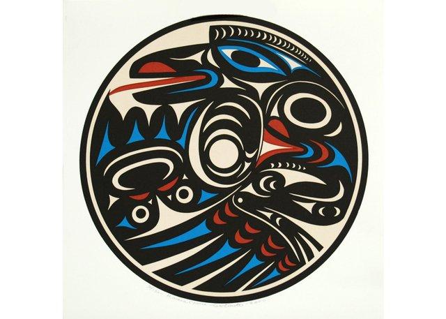 "TEMOSEN (Charles Elliott), ""Raven Circle,"" 2000"