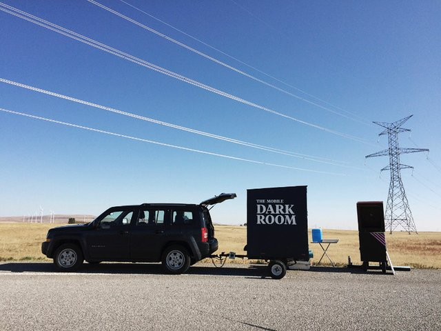 "Shane Arsenault and Natalia Barbaris, ""The Mobile Darkroom,"" 2016"