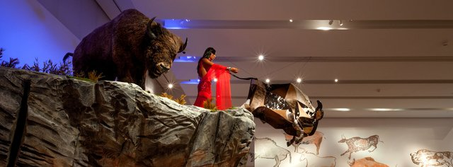 """Kent Monkman, """"Rise and Fall of Civilization,"""""""