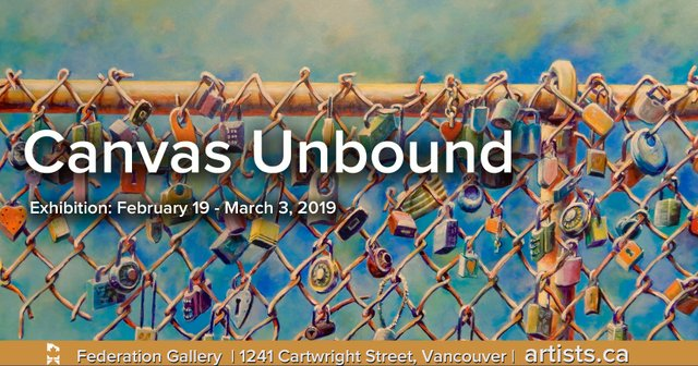 """Federation of Canadian Artists, """"Canvas Unbound,"""" 2019"""