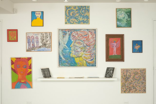 bill bisset, various paintings, 1965-1992
