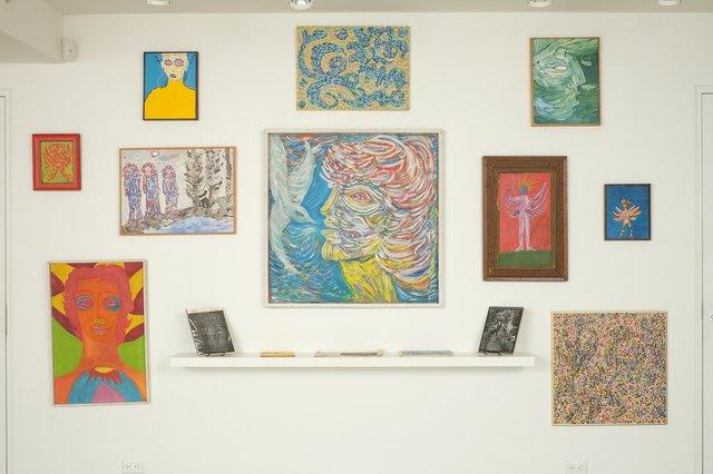 bill bisset, various paintings, 1965-1992