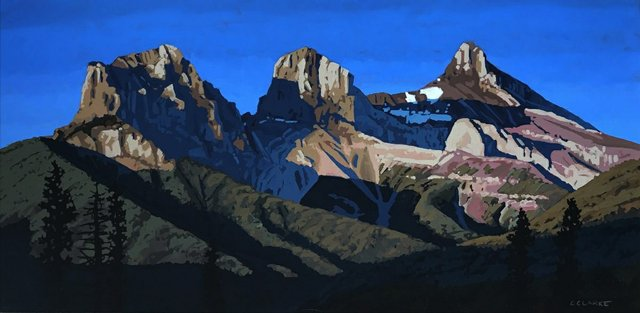 "Christina Clarke, ""The Three Sisters,"" nd"